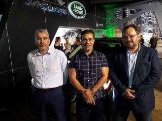 Alfonso Justiniano, Abdala Daher y Oscar Coronado