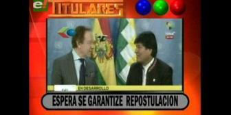 Video titulares de noticias de TV – Bolivia, noche del martes 19 de septiembre de 2017