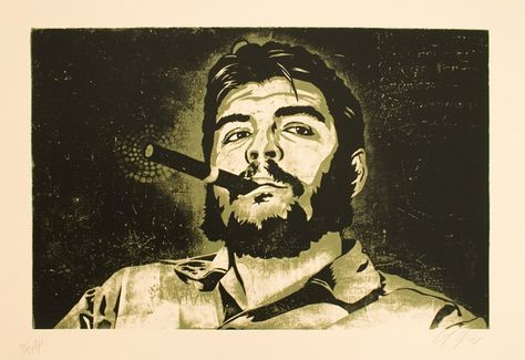 Una imagen de El Che Guevara. Foto: Twitter