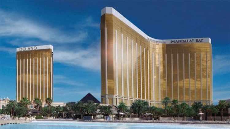 El Mandalay Bay Resort & Casino, uno de los más imponentes de Las Vegas