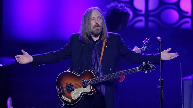 Tom Petty está con muerte cerebral y desconectado de las máquinas