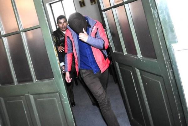 Juan P. M., Luciana R. C. y Alexis C. H. son llevados a la cárcel tras ductarse su detención preventiva. APG