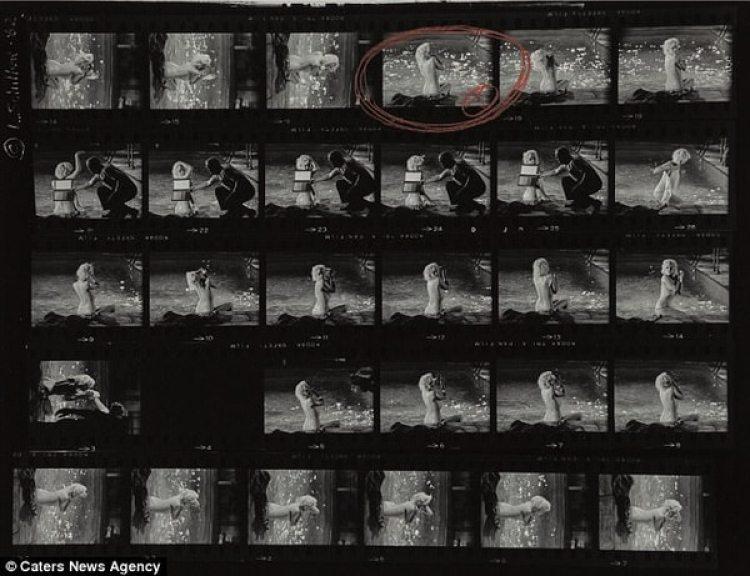 Las veinte fotos podría ser vendidas a un precio de 35 mil dólares