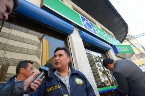 Desfalco en el Banco Unión asciende a Bs. 43 millones