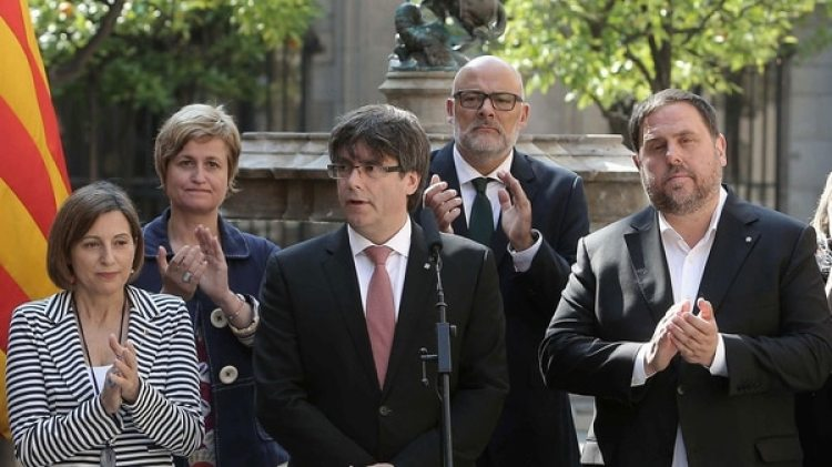 Carles Puigdemont, presidente de Cataluña (EFE)