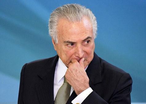 El presidente brasileño Michel Temer, en el ojo de la tormenta. Foto: Archivo EFE