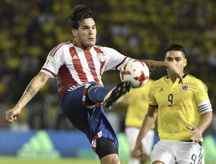Gustavo Gómez, jugador del AC Milán y de la selección de Paraguay (Getty Images)