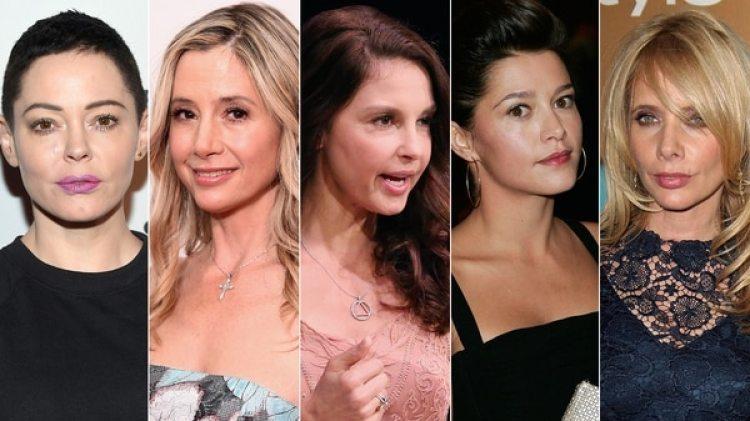 Rose McGowan, Mira Sorvino, Patricia Arquette, entre las artistas abusadas por el productor.