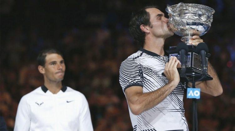 Federer volvió con una gran victoria en enero del 2017