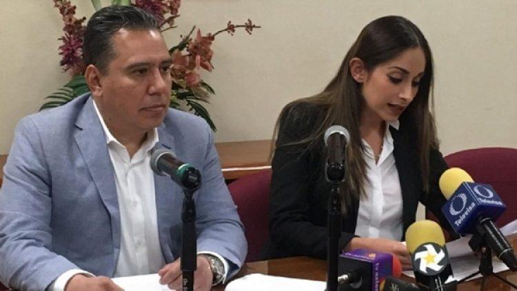 Norberto Ontiveros, fiscal ministerial y Yezca Garza, titular de la Procuraduría de los Niños, las Niñas y la Familia en Coahuila
