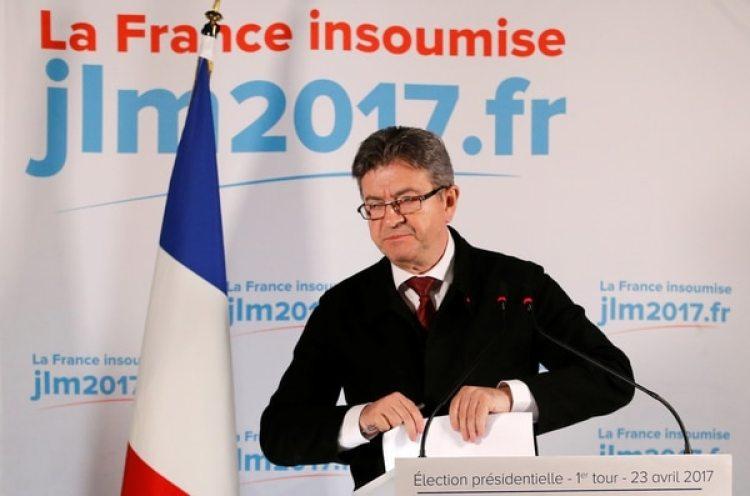 Jean-Luc Melenchon, líder de Francia Insumisa, es uno de los amenazados por el complot (REUTERS/Stephane Mahe)