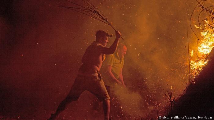 Portugal Waldbrände (picture-alliance/abaca/J. Henriques)