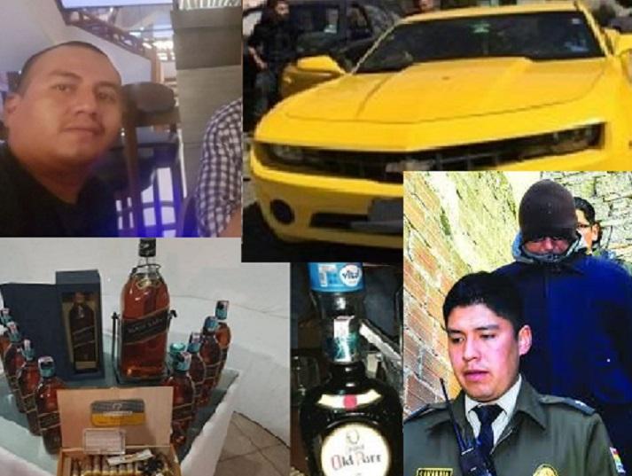 El ladrón del Banco Unión presumía la adquisición de un auto que él diseñó para su novia (Video)