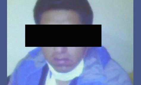 El hombre que fue detenido por el caso de necrofilia en el Hospital de Clínicas de La Paz.