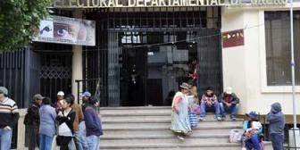 Tribunal Electoral de Oruro iniciará difusión de méritos de candidatos a altas autoridades judiciales