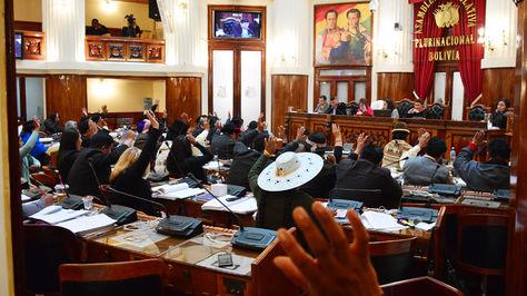 Sesión de la Cámara de Diputados.