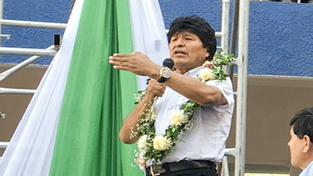 Morales: Chile no puede negar que usurpó nuestro territorio
