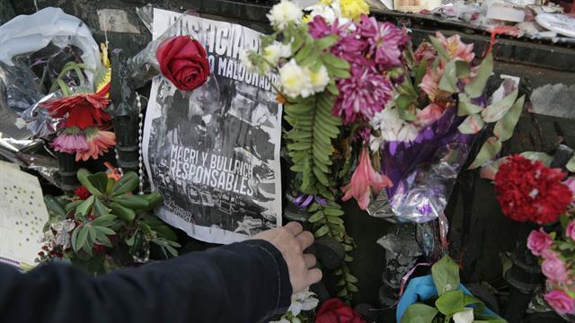 El cuerpo de Santiago Maldonado llegó a la morgue el jueves 19 de octubre. Foto: LA NACION / Soledad Aznarez