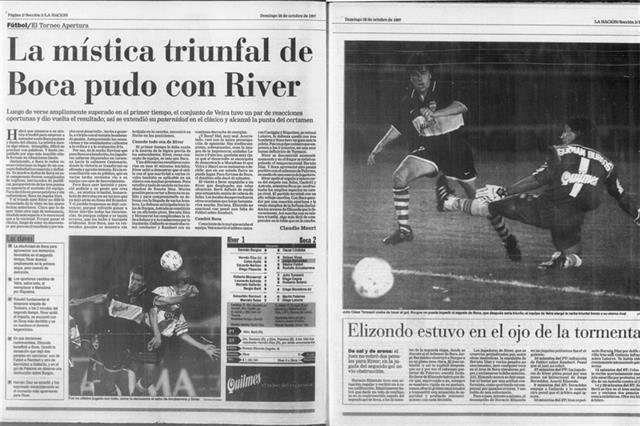 Se cumplen 20 años del último partido de Maradona