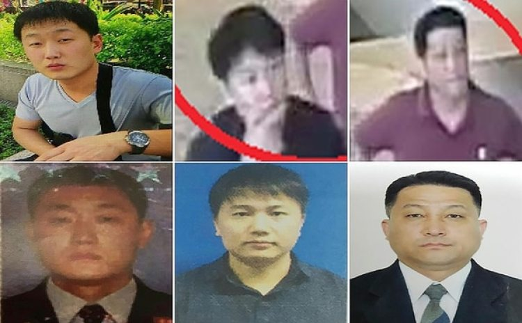 La policía de Malasia identificó a cuatro agentes y dos sospechosos norcoreanos que habrían orquestado el asesinato de Kim Jong-nam (AFP)