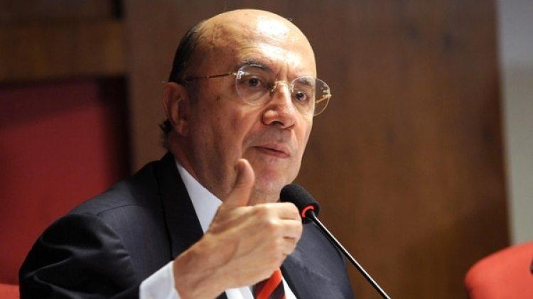 Henrique Meirelles, ministro de Hacienda brasileño