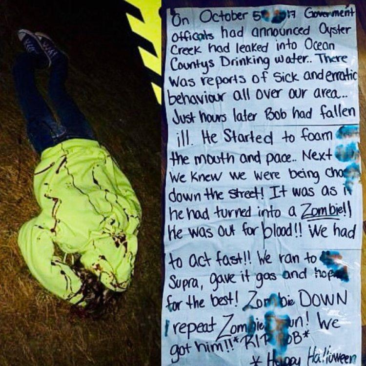 A través de una nota, los Negrotto compartieron la historia del Bob el zombie y su trágico final. Su amiga Cindy no corrió mejor suerte