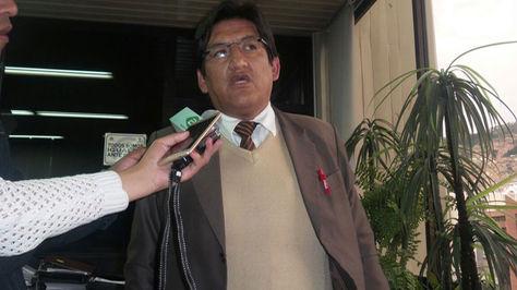 Jesus Vera, presidente de la Fejuve La Paz