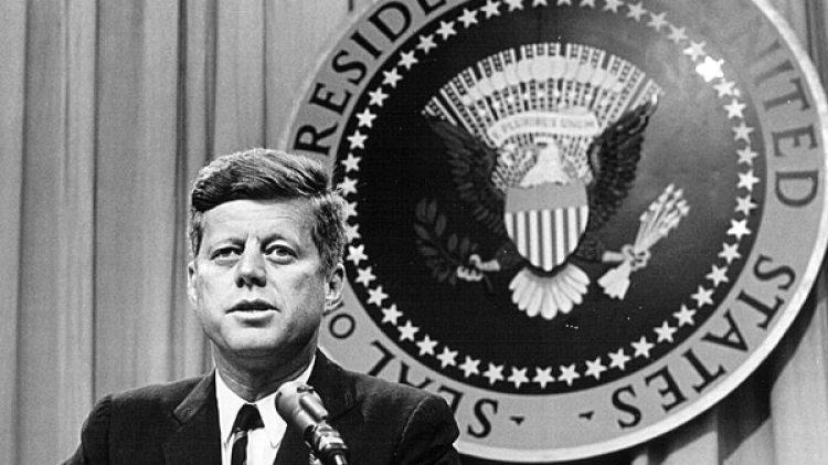 John F. Kennedy, el presidente de los Estados Unidos asesinado el 22 de noviembre de 1963. (Archivo Nacional/Newsmakers)