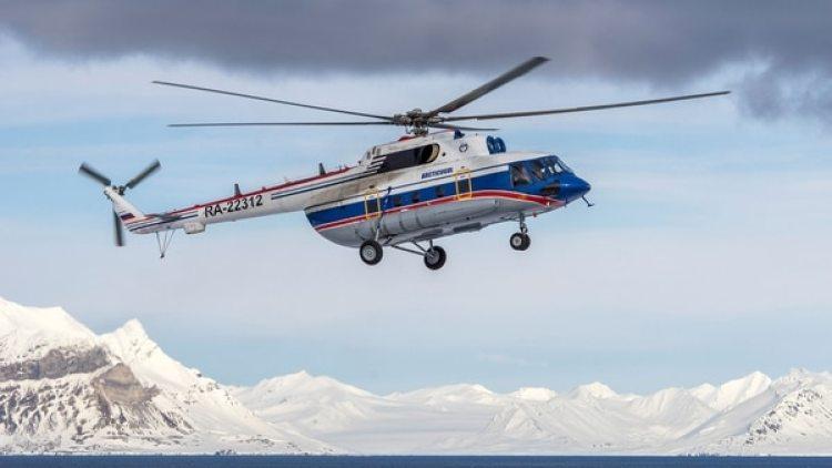 El helicóptero ruso desaparecido el jueves en el mar Ártico (Reuters)