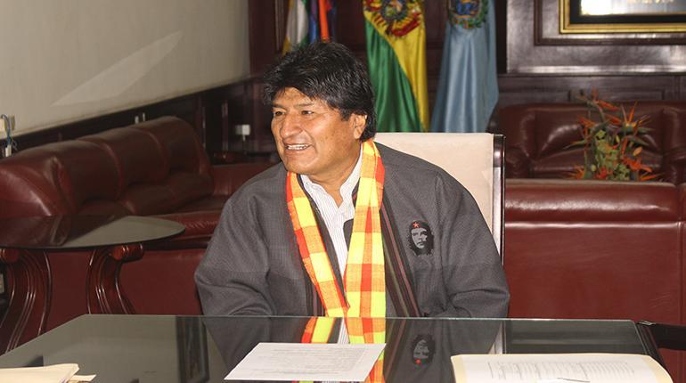 Evo Morales afirma que Chile hizo oferta secreta a Bolivia