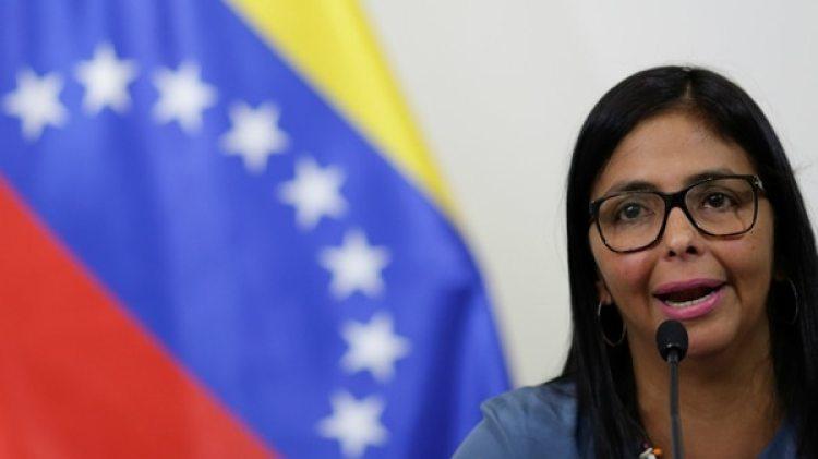 La presidenta de la Asamblea Constituyente Delcy Rodríguez (Reuters)