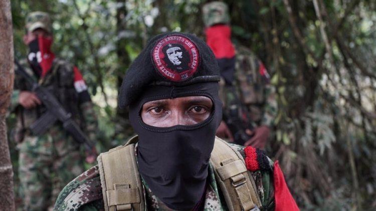 Yerson,el comandante del Ejército Nacional de Liberación Nacional (ELN) ( REUTERS/Federico Rios)