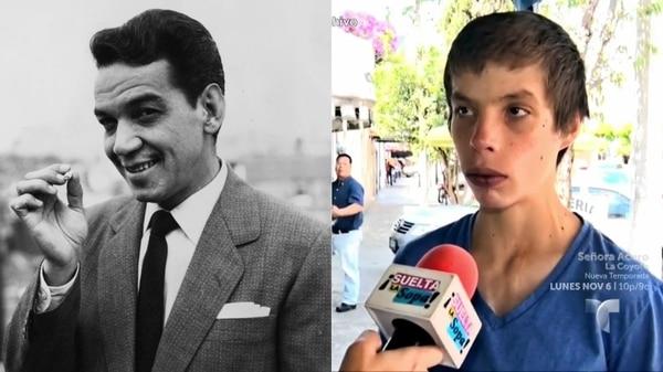 Drogas e indigencia, el infierno que vivió un nieto de Cantinflas
