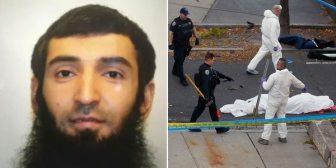 El terrorista de Nueva York dejó una nota en la que afirma que atacó en nombre de ISIS