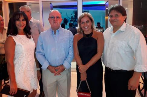Blanca Vaca Diez, Erwin Bowles, Monica Aponte y Miky Cespedes