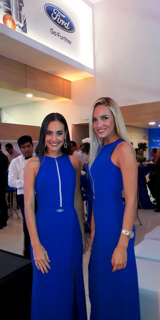 Fabiola Bowles y Ma. Claudia Velasco