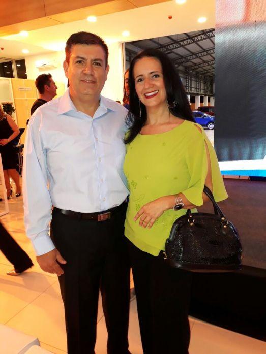 Antonio Cerda y Cristina Eguez