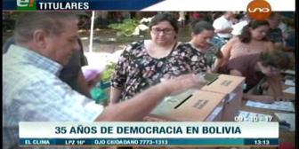 Video titulares de noticias de TV – Bolivia, mediodía del lunes 9 de octubre de 2017