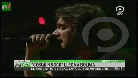 Cosquín Rock Bolivia tendrá más de 25 artistas nacionales e internacionales