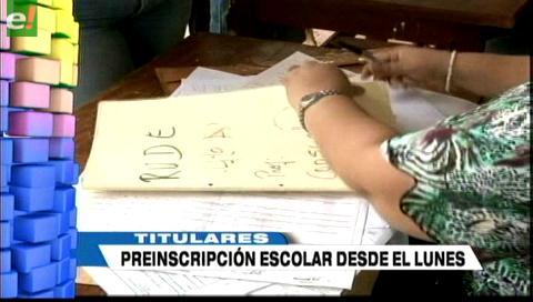 Video titulares de noticias de TV – Bolivia, mediodía del viernes 13 de octubre de 2017
