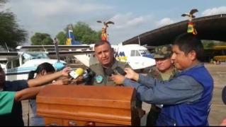 Gral. Gonzalo Sempértegui Jefe Dpto. III - Operaciones CMDO. Gral. de la FAB