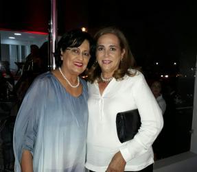 María Zelada y Martha Aguilera