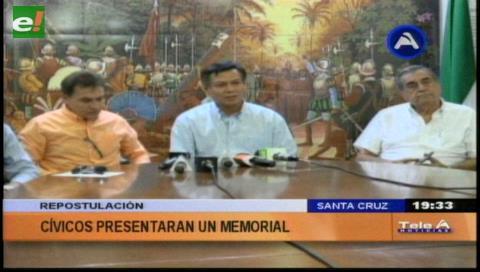 La oposición pide a la CIDH frenar la reelección de Morales