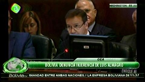 La Secretaría General de la OEA ratifica posición de Almagro de respetar la voluntad popular