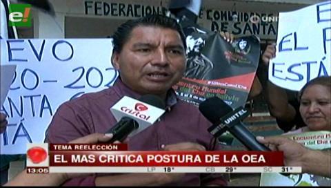 El MAS dice que Goni y Sánchez Berzaín influyeron en la posición de la OEA