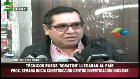Alarcón anuncia llegada de Rosatom e inicio de obras del Centro Nuclear