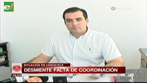 Cenvicruz: Gobernación cruceña desmiente falta de coordinación con la Policía