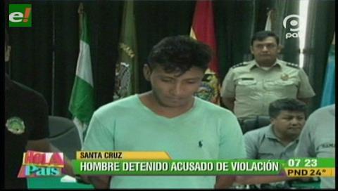 Las contactó vía Facebook: Detienen a sujeto acusado de violación
