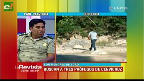 Policía sigue movilizada en busca de los menores que se fugaron de Cenvicruz