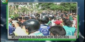 Video titulares de noticias de TV – Bolivia, mediodía del martes 10 de octubre de 2017